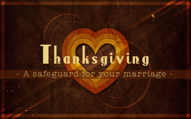 thanksgiving marriage